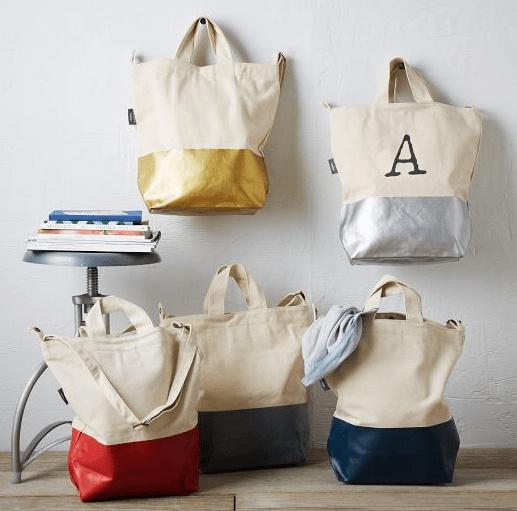 Dipped Tote from West Elm