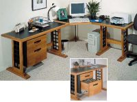 Computer Desk Woodworking Plan from WOOD Magazine