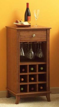 Ready-to-serve wine cabinet Woodworking Plan from WOOD ...