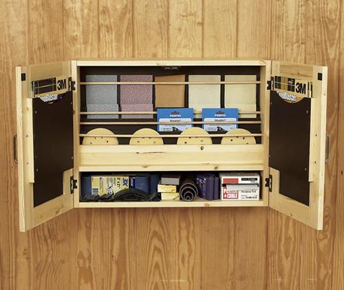 GetItAll Together Sandpaper Cabinet Woodworking Plan