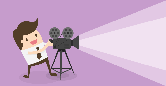 como fazer video