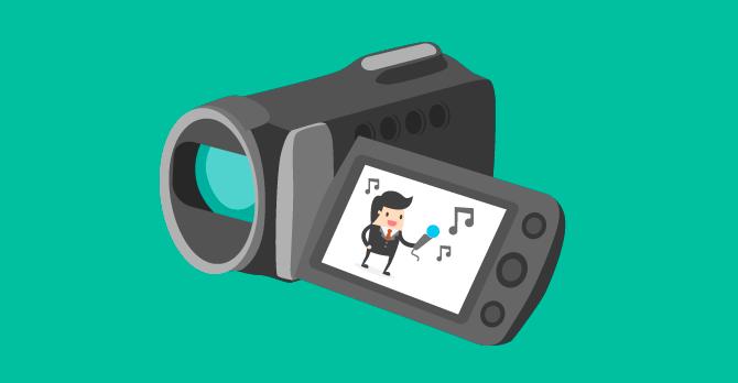 músicas para vídeos