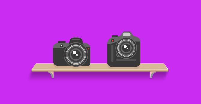 câmera semi profissional