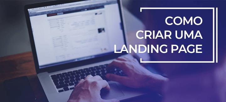 como criar landing page