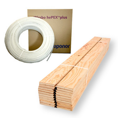 Quik Track Radiant Heat Package