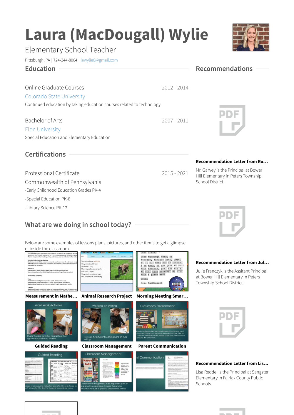 Substitute Teacher Resume Sample Substitute Teacher Resume Samples Templates Visualcv