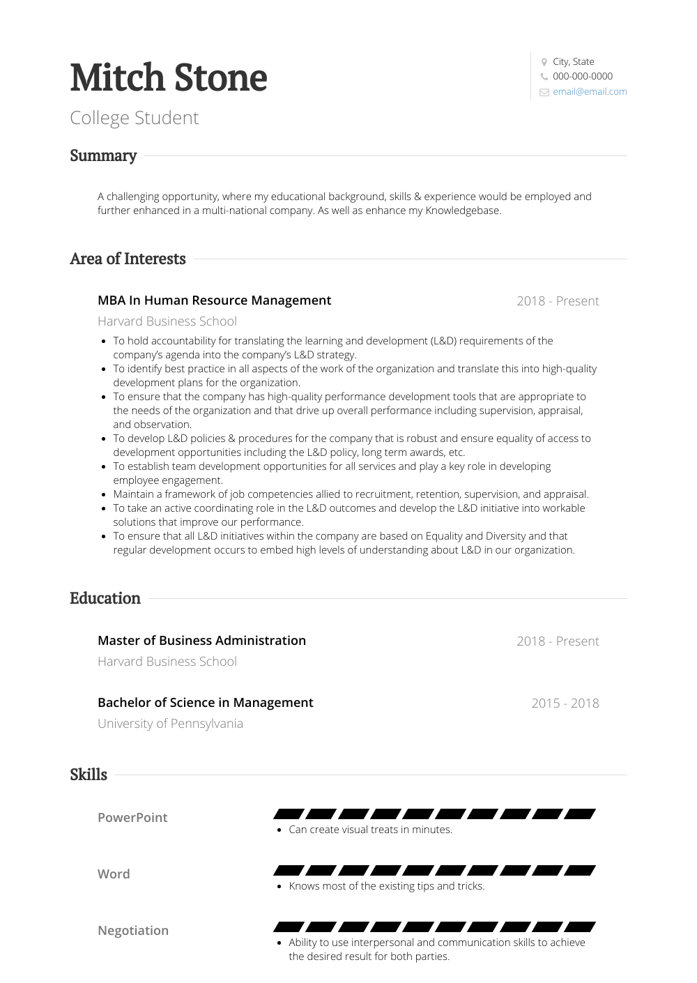Students Resume Samples College Student Resume Samples Templates Visualcv
