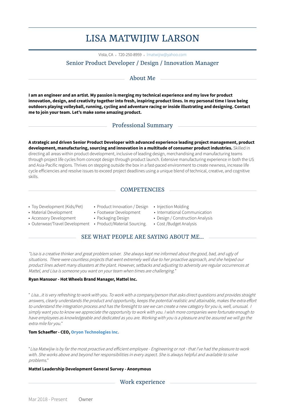 sample resumes in virginia
