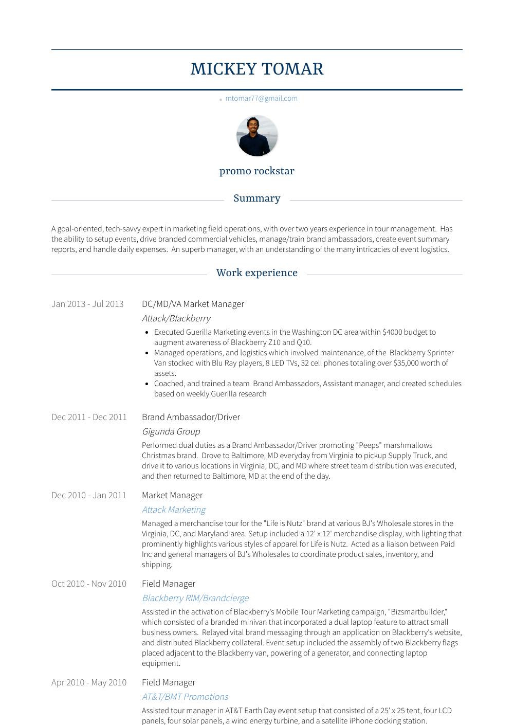 Md  Resume Samples  Templates  VisualCV