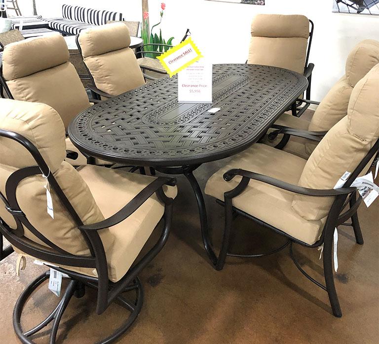 patio furniture clearance california