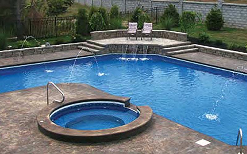 latham steel pool system pleasure