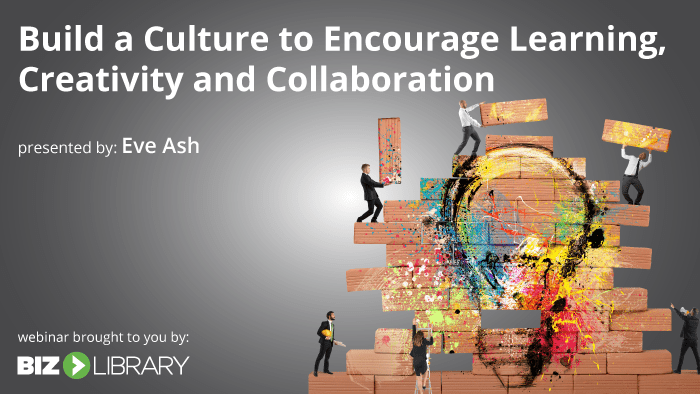 Build a Culture of Learning webinar cover
