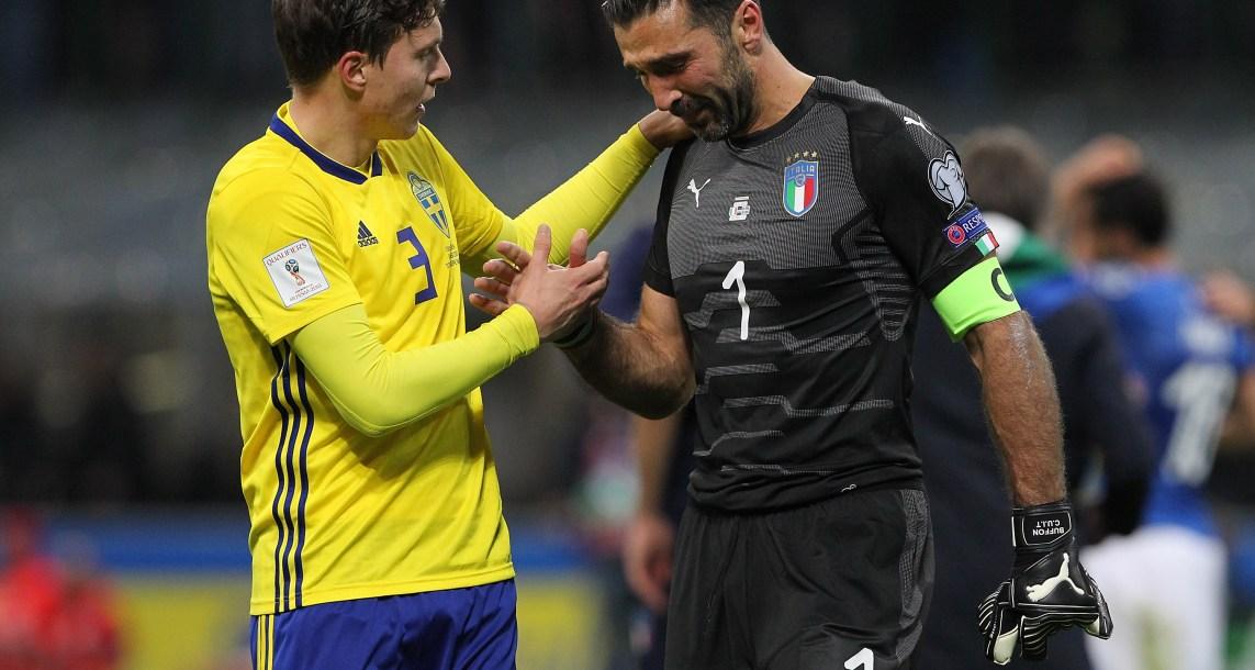 Italia queda por fuera de un Mundial por primera vez en 60años