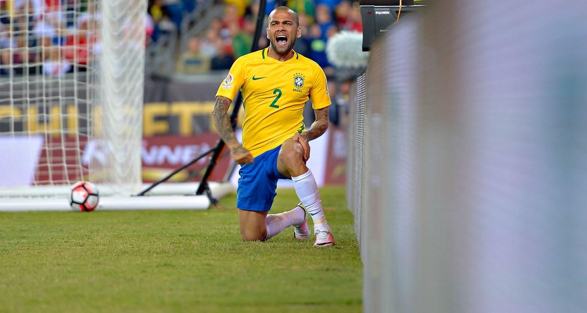 Peligra el Mundial para DaniAlves