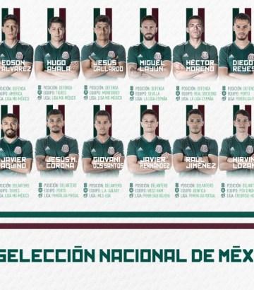 Equipo México Rusia 2018