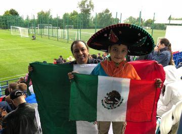 México se entrenó a puertas abiertas enMoscú