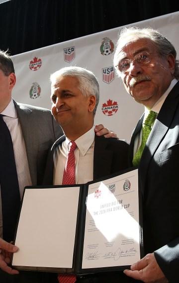 México, Estados Unidos y Canadá son los anfitriones del Mundial2026