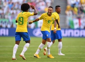 Neymar ha pasado más de 14 minutos acostado en las canchasRusas