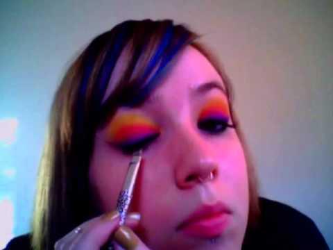 Sunset Inspired Makeup Tutorial