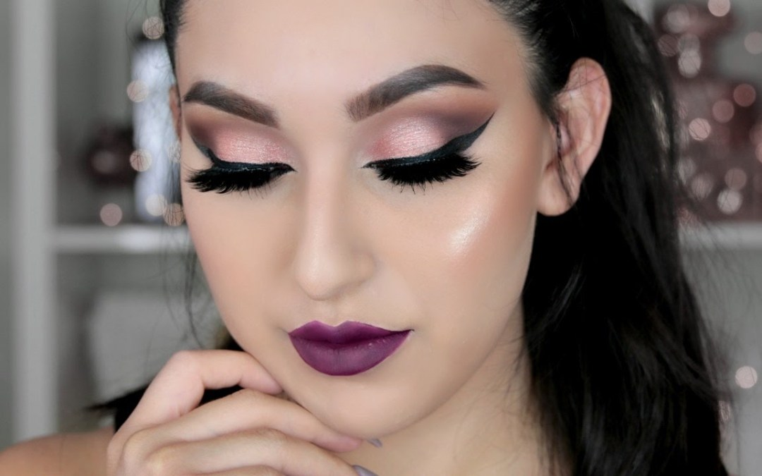 NAKED ULTIMATE BASICS & 3 PALETTE: FALL VAMPY MAKEUP TUTORIAL | BEAUTYYBIRD