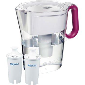 Brita Wave Filtered Pitcher 10 cup Pink