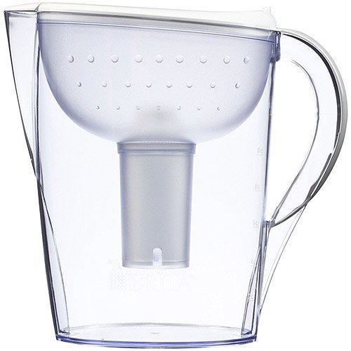Brita Pacifica Water Filter Pitcher White 10 Cup