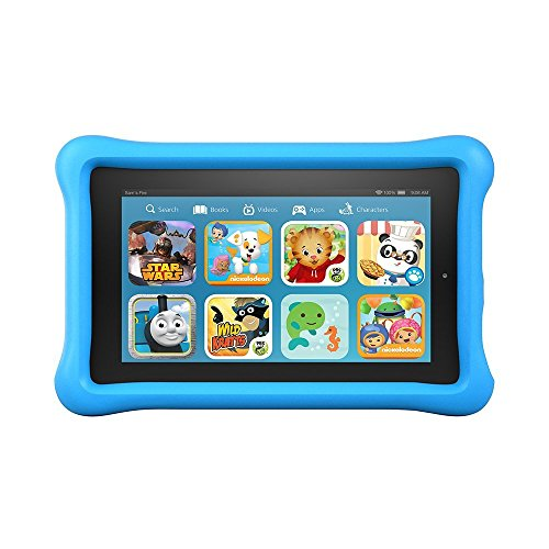 Fire Kids Edition Tablet 7″ Display 16 GB Blue Kid-Proof Case
