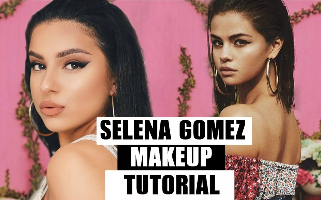 SELENA GOMEZ MAKEUP TUTORIAL – ALL DRUGSTORE!