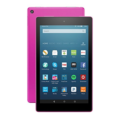 Fire HD 8 Tablet with Alexa 8″ HD Display 16 GB Magenta – with Special Offers