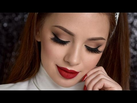 PAN CHAN MAKEUP –  Neutral Smokey Eye & Red Lips Makeup Tutorial