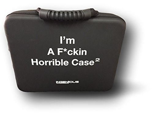InGenious I'm A F*ckin Horrible Case for Cards Against Humanity Game Black X-Large