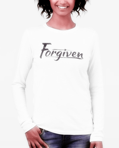 New Line of Women's Christian T-Shirts (Forgiven)