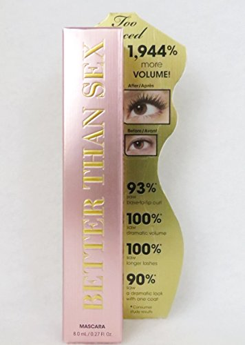 Too Faced Better Than Sex Mascara 0.27 Ounce Full Size