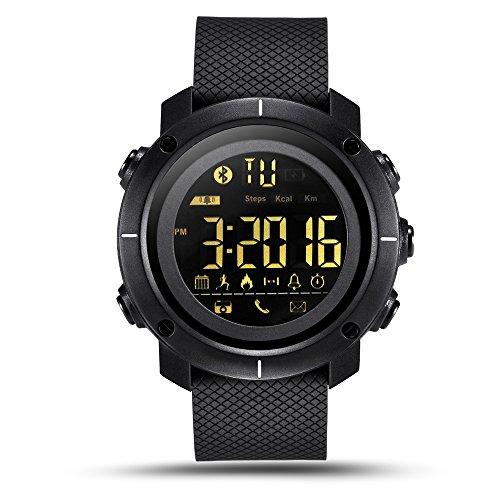 LEMFO LF19 Digital Men's Smart Watch IP68 Waterproof 5ATM Call SMS Notification Sport Smartwatch with LED Backlight