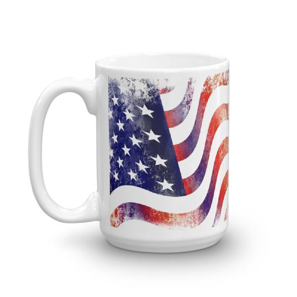 mockup ea68596d - American Flag Mug (Textured Grunge)