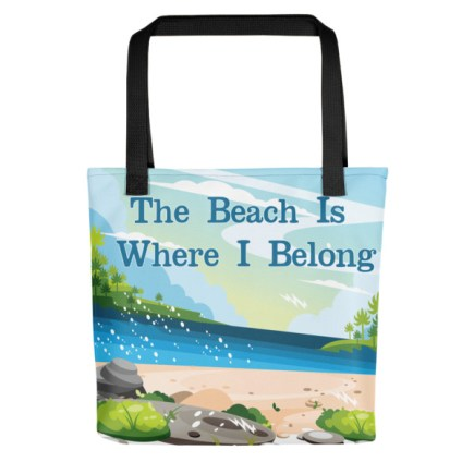 mockup 5fa70ea8 - Beach Tote Bag