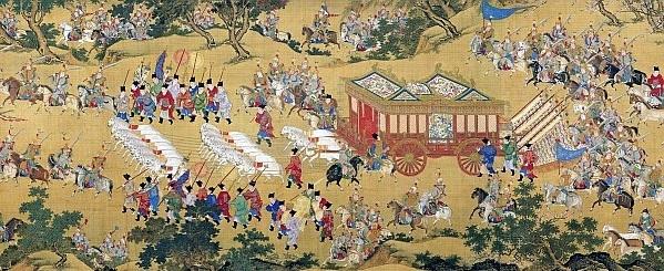 Représentation Han Dynasty 3 Royaumes