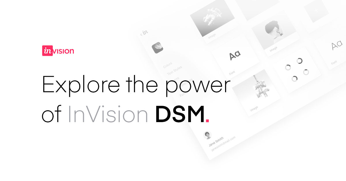 Learn InVision Design System Manager