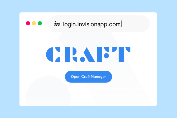 Craft login