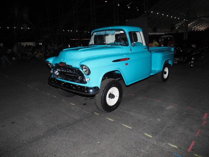 Kit NAPCO 4x4 en camión Chevy