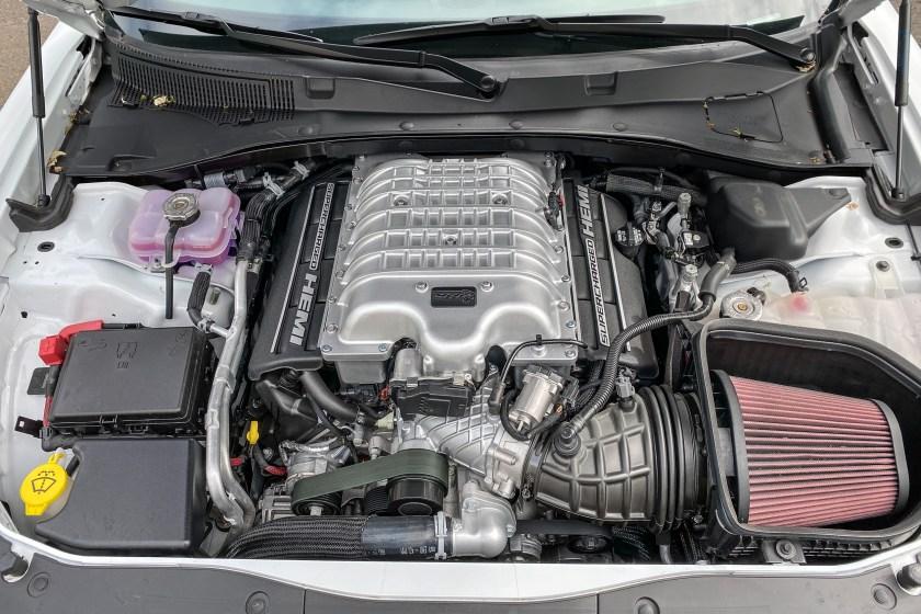 2021 Dodge Charger SRT Hellcat Redeye motor de fuselaje ancho