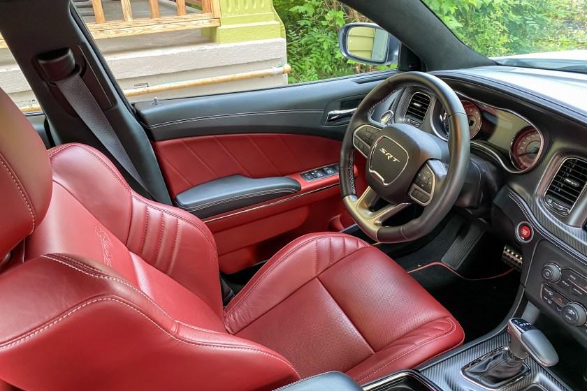 2021 Dodge Charger SRT Hellcat Redeye Widebody interior