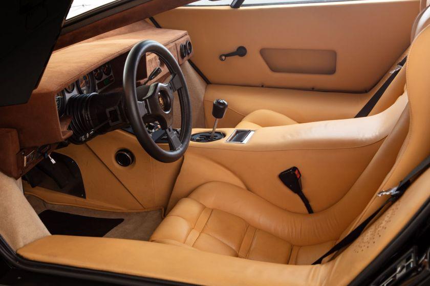 Interior de 1979 Lamborghini Countach