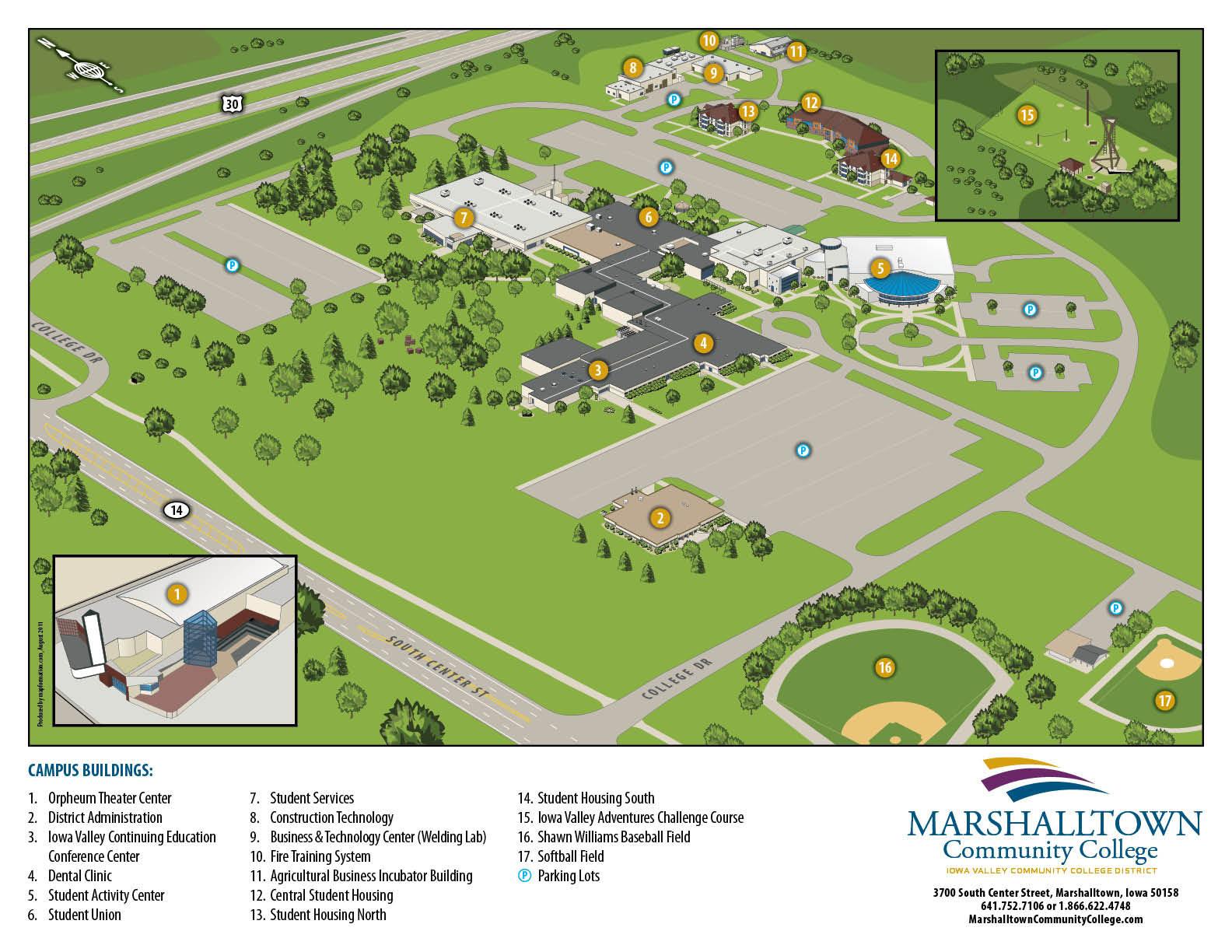 Scottsdale Community College Campus Map