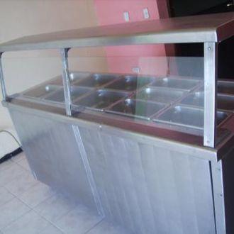 Mesa bufetera frio o caliente para negocio  Mercadomx