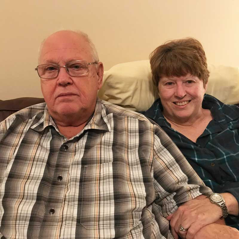 The Metropolitan Sewer District is in the process of buying out Ron and Brenda Smith from their home. (Erica Peterson)