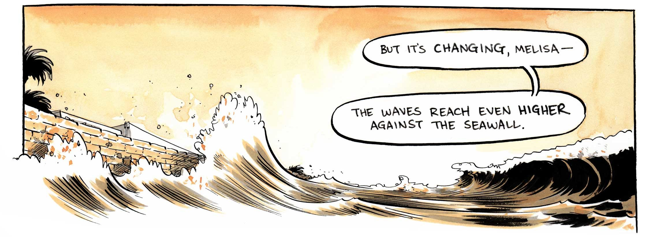 Awaiting A Wave