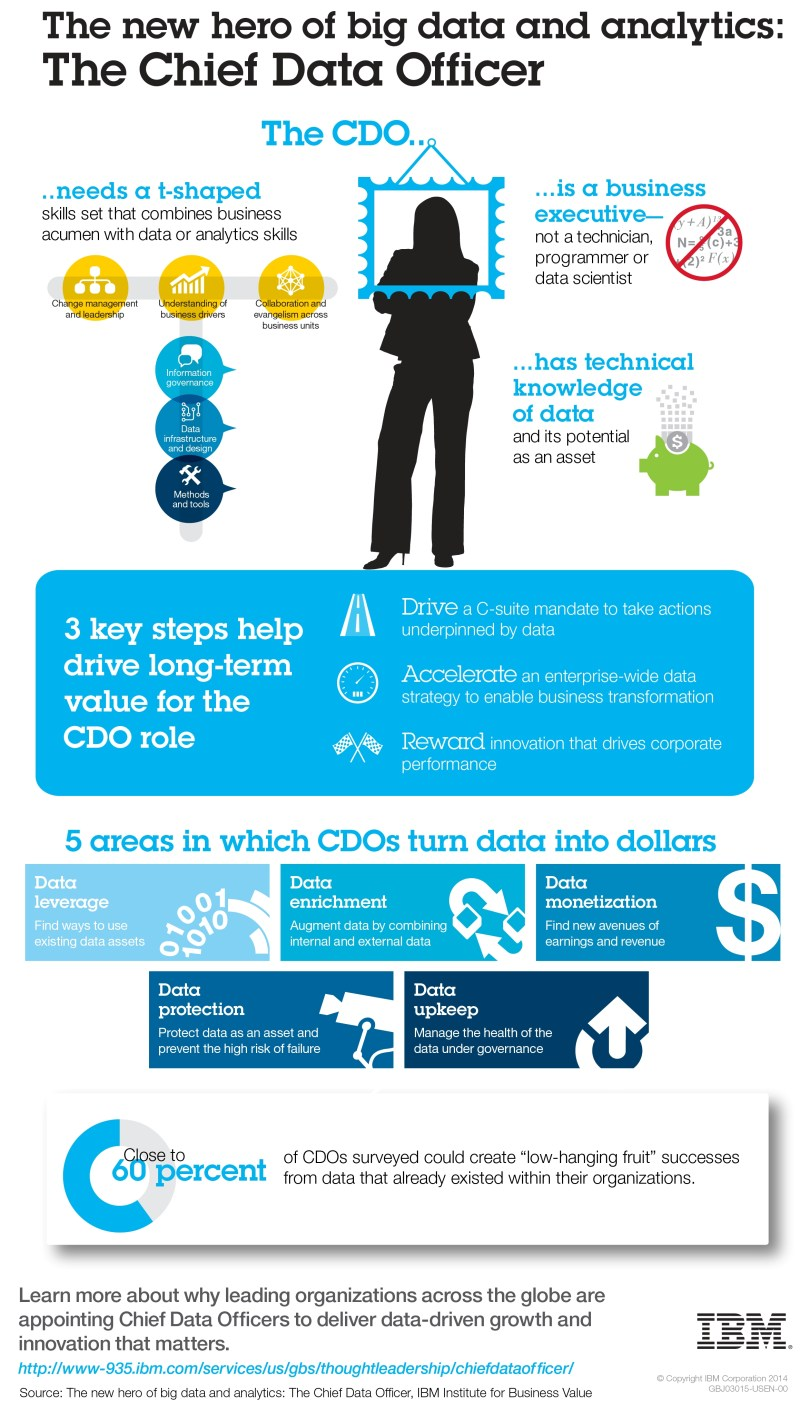 Figure 1. CDO infographic from IBM.