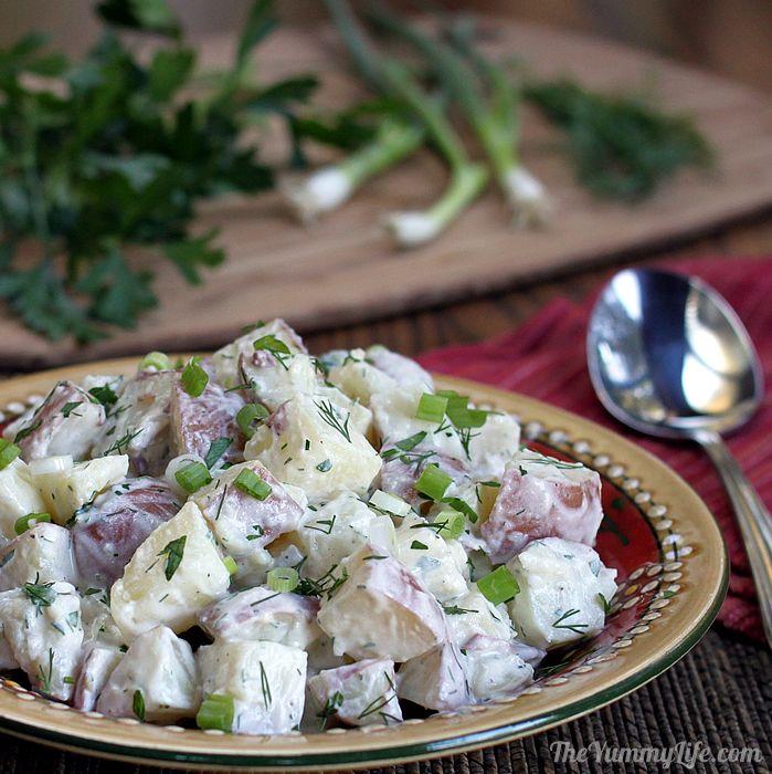 affordable kitchen knives pendant lighting over island yogurt dill potato salad