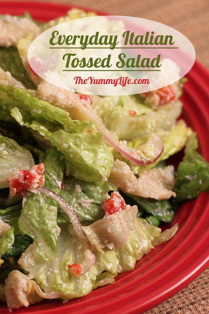Everyday Italian Tossed Salad